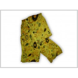 Shawl: Yellow Design